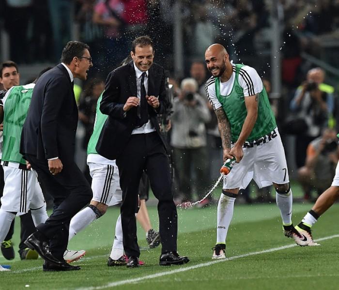 """Allegri: """"Podía irme contento a los penaltis o romper el partido. Hice lo segundo"""""""