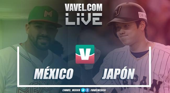 Resumen y video carreras México 4-2 Japón en Juego 1 Japan Series 2019