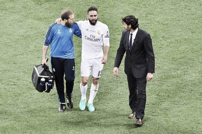Dani Carvajal needs three weeks to recover from injury, will miss the Euros