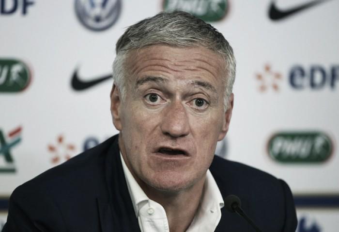 """Deschamps lamenta acusações de racismo antes da Euro: """"Nem no meu pior pesadelo"""""""