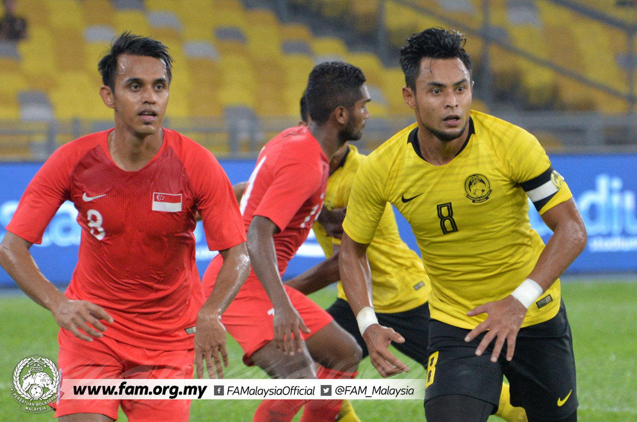 Singapore beat Malaysia 1-0 in the Causeway Derby