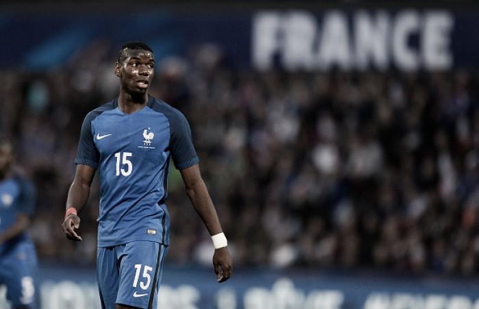"""Pogba comenta expectativa dos torcedores franceses para Euro: """"Não quero decepcioná-los"""""""