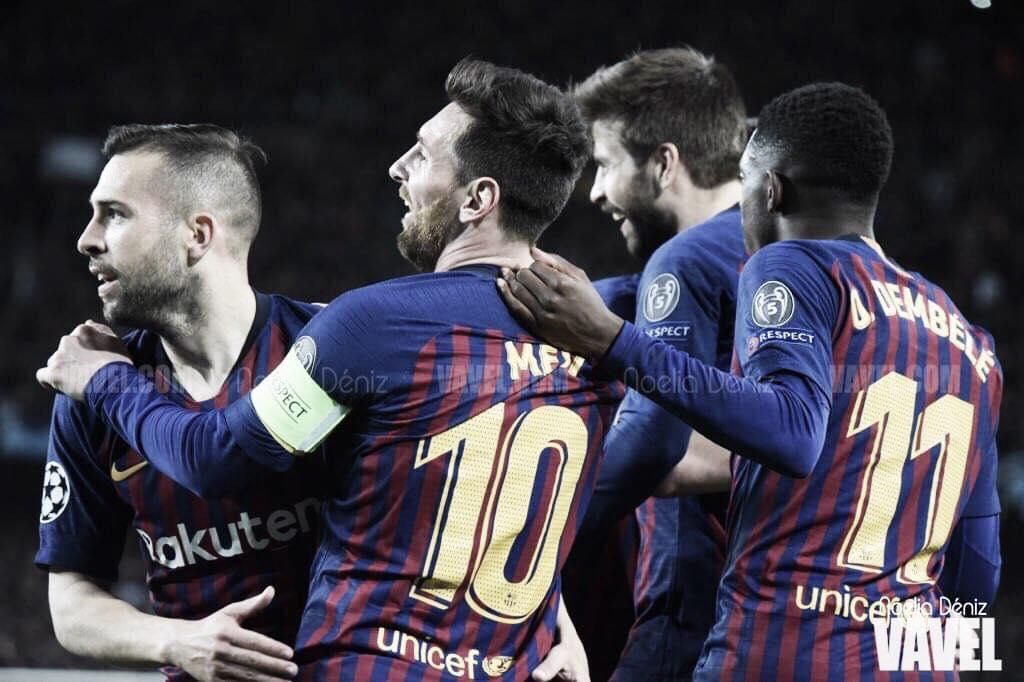 Messi iguala en victorias a Xavi