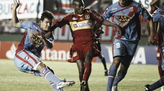 El historial con equipos peruanos
