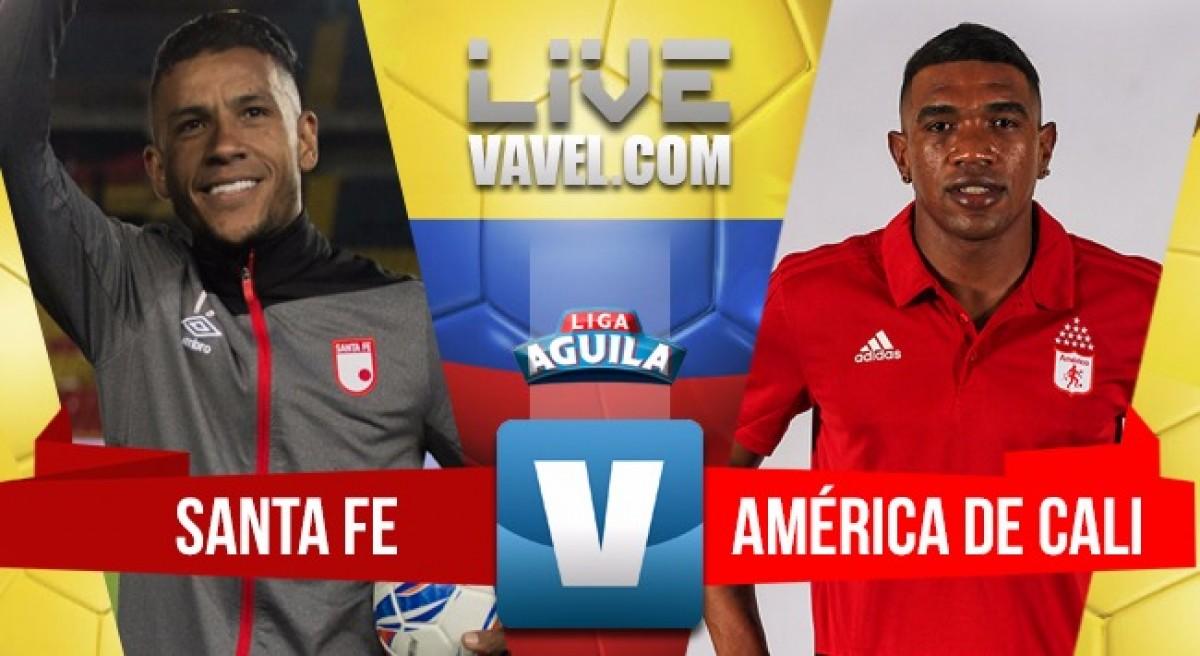 Santa Fe superó 3-0 al América y reaviva la crisis 'escarlata'