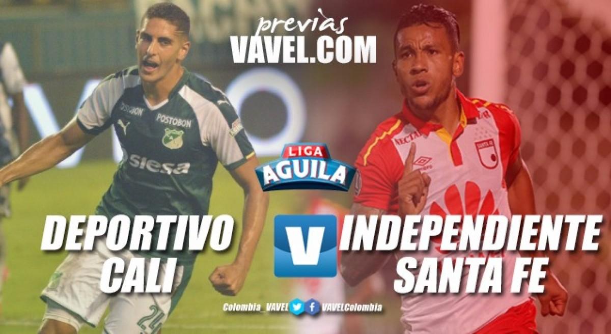 Previa Deportivo Cali vs. Santa Fe: Duelo de Técnicos uruguayos