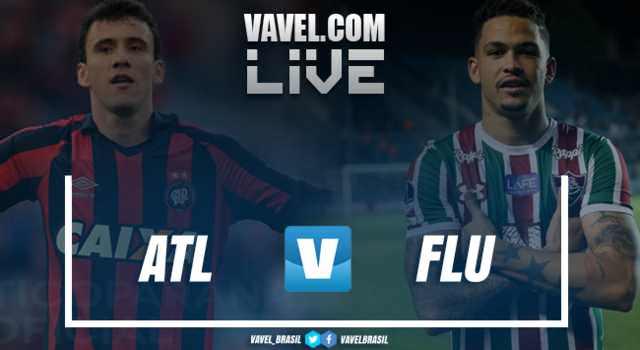 Resultado Atlético-PR 2x0 Fluminense pela Copa Sul-Americana 2018