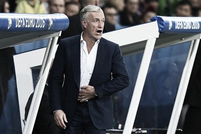 Deschamps analisa empate sem gols com Suíça e classificação da França como líder
