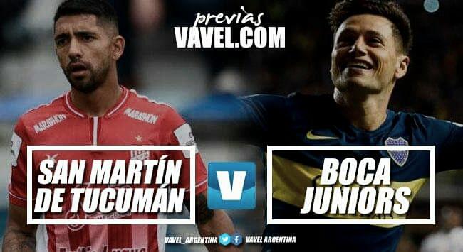 Previa San Martín de Tucumán - Boca Juniors: ganar es la única opción