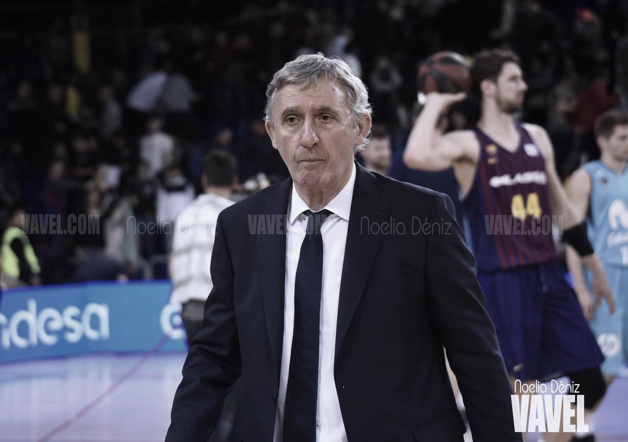"Svetislav Pesic: ""Los primeros diez minutos han sido una catástrofe"""