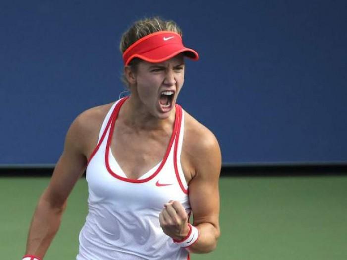 WTA Shenzhen: ottima prova per la Bouchard, avanti la Radwanska, si ritira la Begu