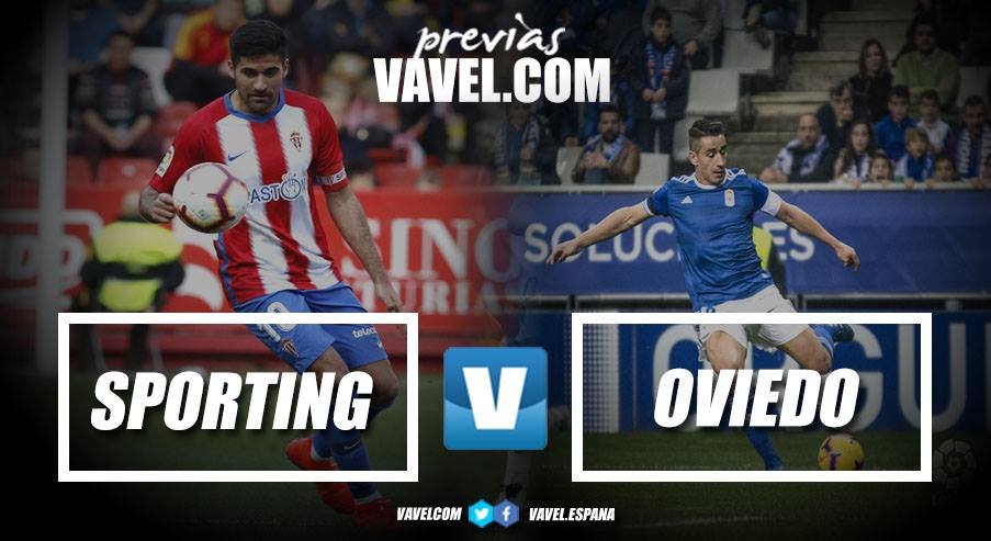 Previa Sporting de Gijón - Real Oviedo: tiempo de derbi