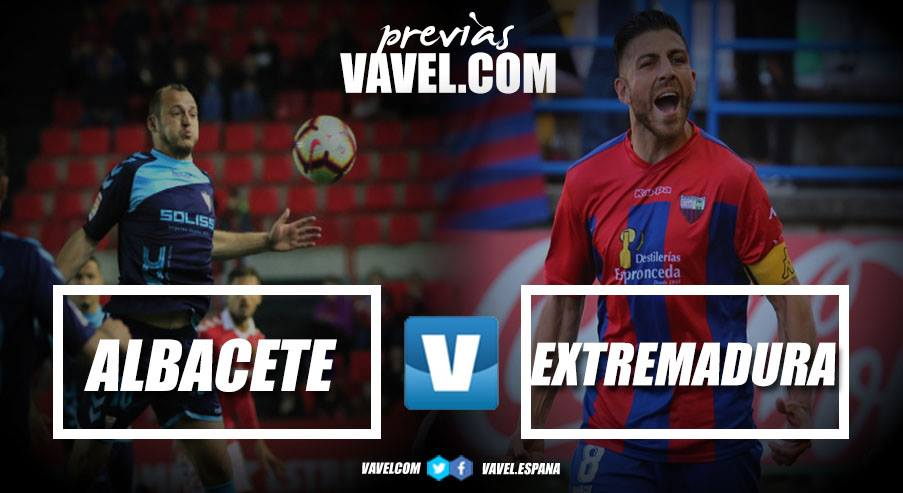 Previa Albacete - Extremadura: la victoria como necesidad