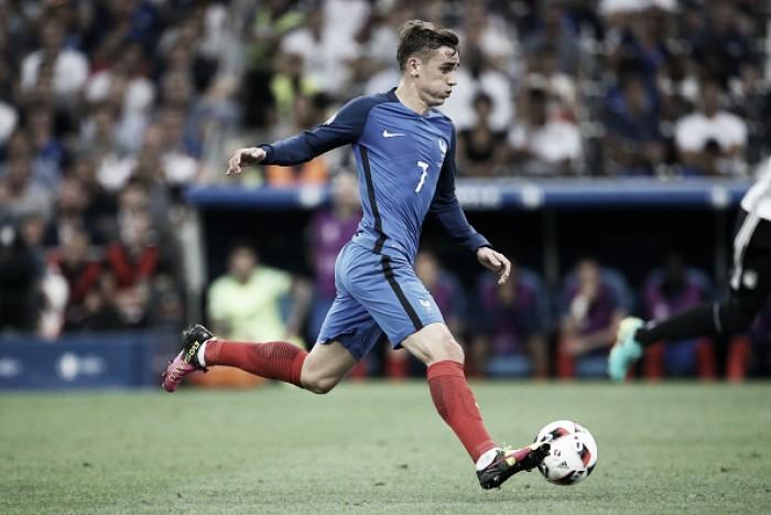 """Griezmann celebra gols e classificação da França à final da Euro: """"É uma vitória coletiva"""""""