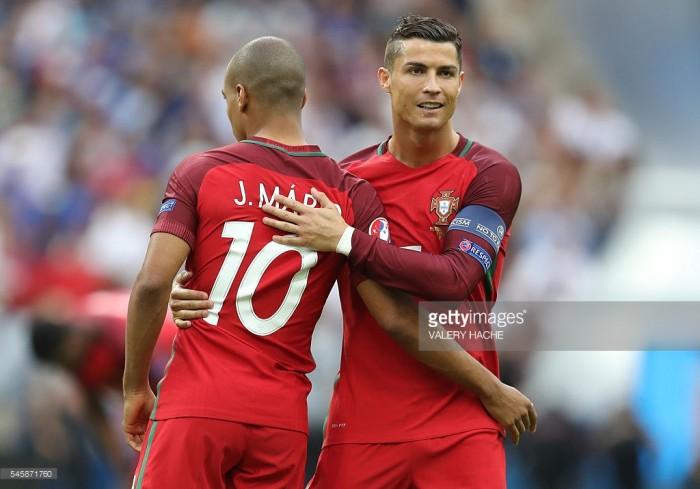 Ronaldo e o futuro de João Mário: «Vão ver do que ele é capaz»
