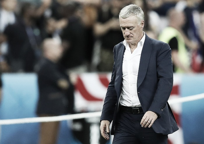 """Deschamps lamenta derrota na final da Eurocopa: """"Vamos precisar de tempo para digerir isso"""""""