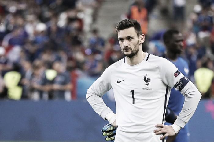 """Capitão francês, Lloris fala sobre derrota para Portugal na Euro: """"Futebol às vezes é cruel"""""""