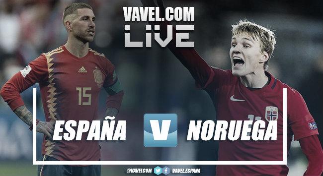 Resumen del España 2-1 Noruega en Fase de Clasificación Eurocopa 2020