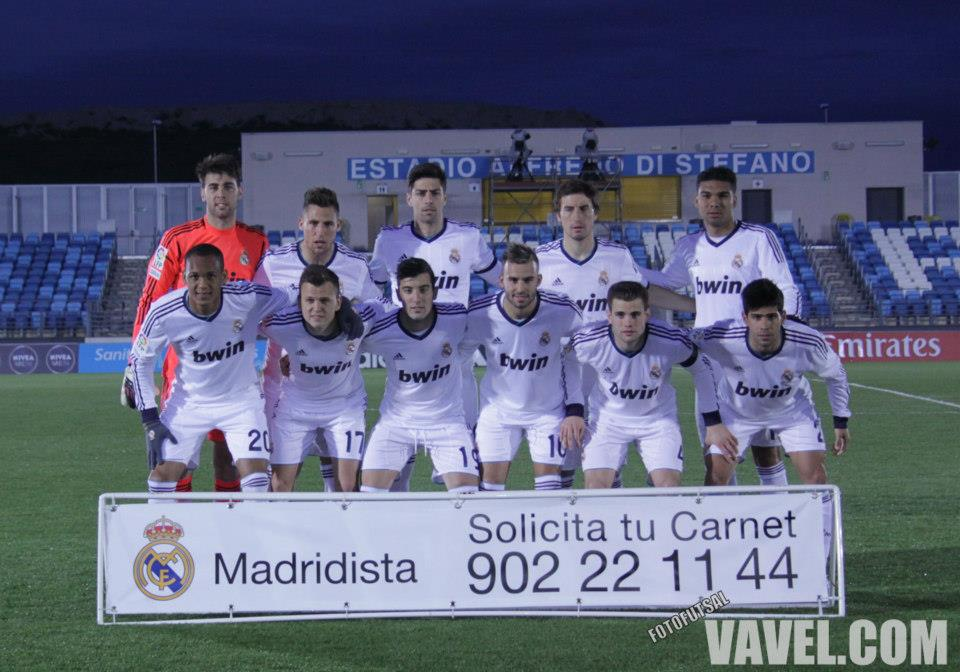 Real Madrid Castilla - Huesca: puntuaciones del Real Madrid Castilla, jornada 33