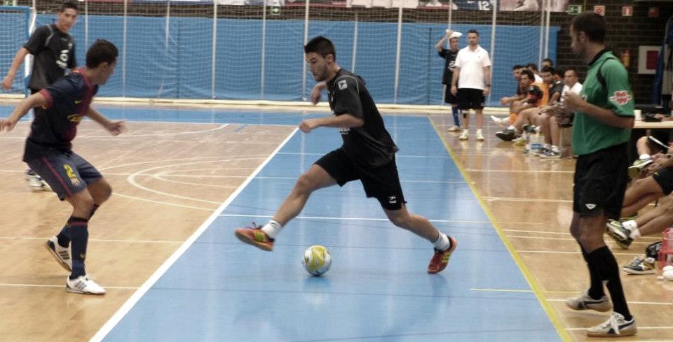 """Carlos Maza: """"Quiero jugar en Primera División con el Castell de Peñíscola"""""""
