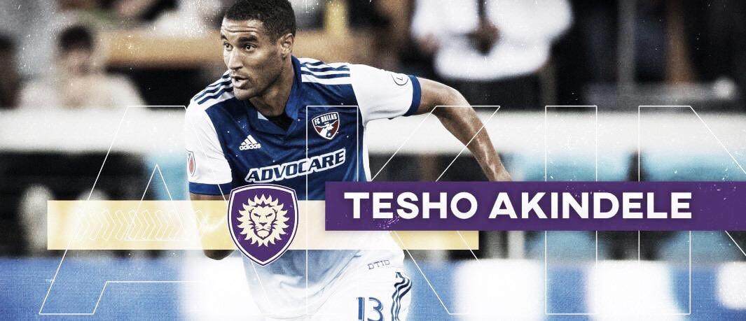 Tesho Akindele refuerza a Orlando City SC