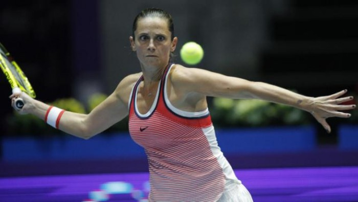 WTA St. Petersburg: Roberta Vinci Reaches Final With Win Over Ana Ivanovic