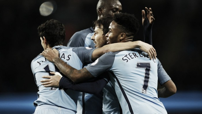 Hull City - Manchester City in Premier League 2016/17 (0-3): Tris Citizens nel finale!