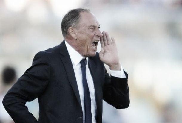 Zdenek Zeman, entraîneur d'un nouveau Cagliari