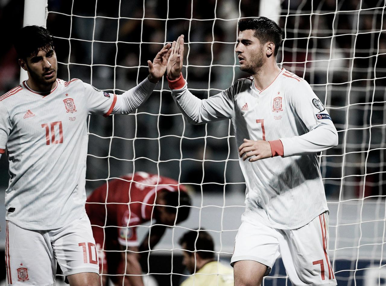 """Marco Asensio: """"He jugado dos partidos enteros y eso ayuda mucho"""""""