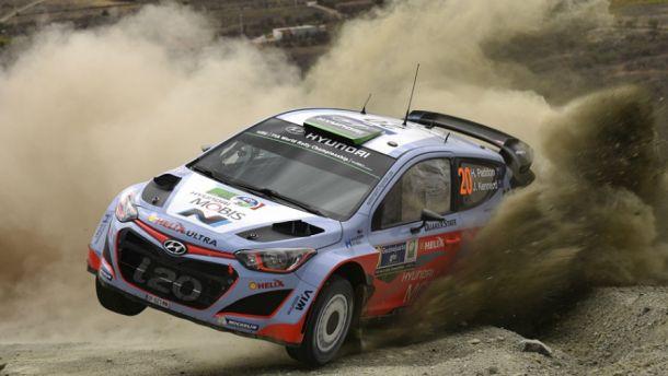 El debut del Hyundai i20 WRC se retrasa
