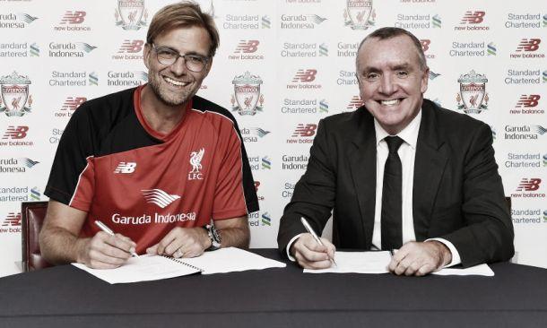 Jürgen Klopp, nuevo entrenador del Liverpool
