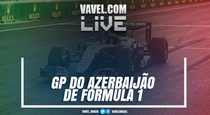 GP do Azerbaijão de F1 ao vivo hoje