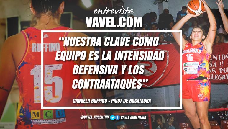 """Entrevista. Candela Ruffino: """"Debemos mejorar en los cierres de juego"""""""