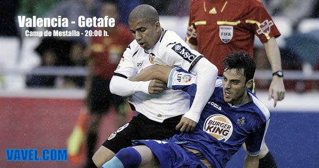 Valencia - Getafe: confrontación de trayectorias