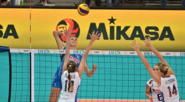 Campionato Europeo di volley: Russia batte Italia 3-1 ed accede alla semifinale