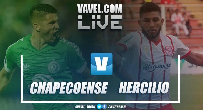 Resultado e gols Hercilio Luz x Chapecoense pelo Catarinense 2019