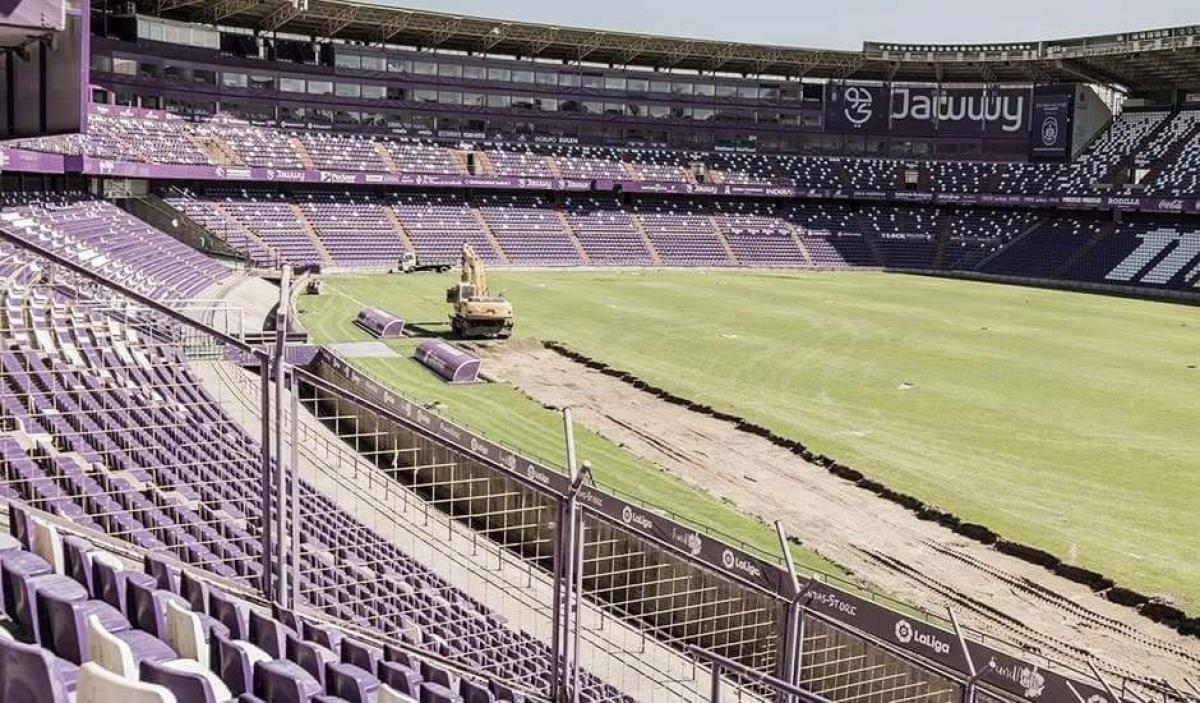 Novedades respecto al césped y al estadio