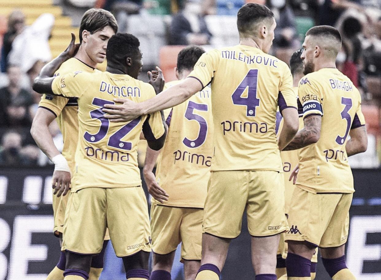 Fiorentina resiste e garante vitória contra Udinese fora de casa pela Serie A