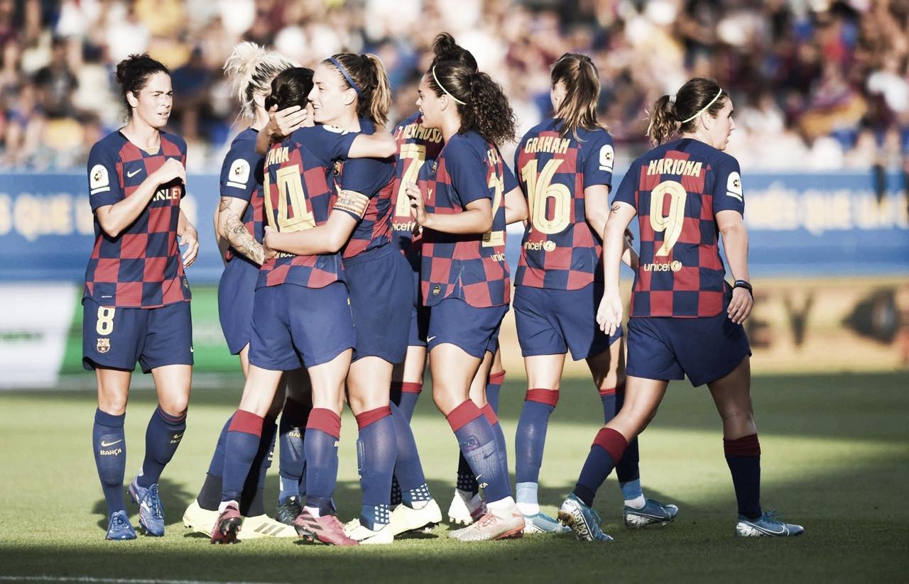 Com Barcelona campeão, Federação Espanhola encerra liga feminina
