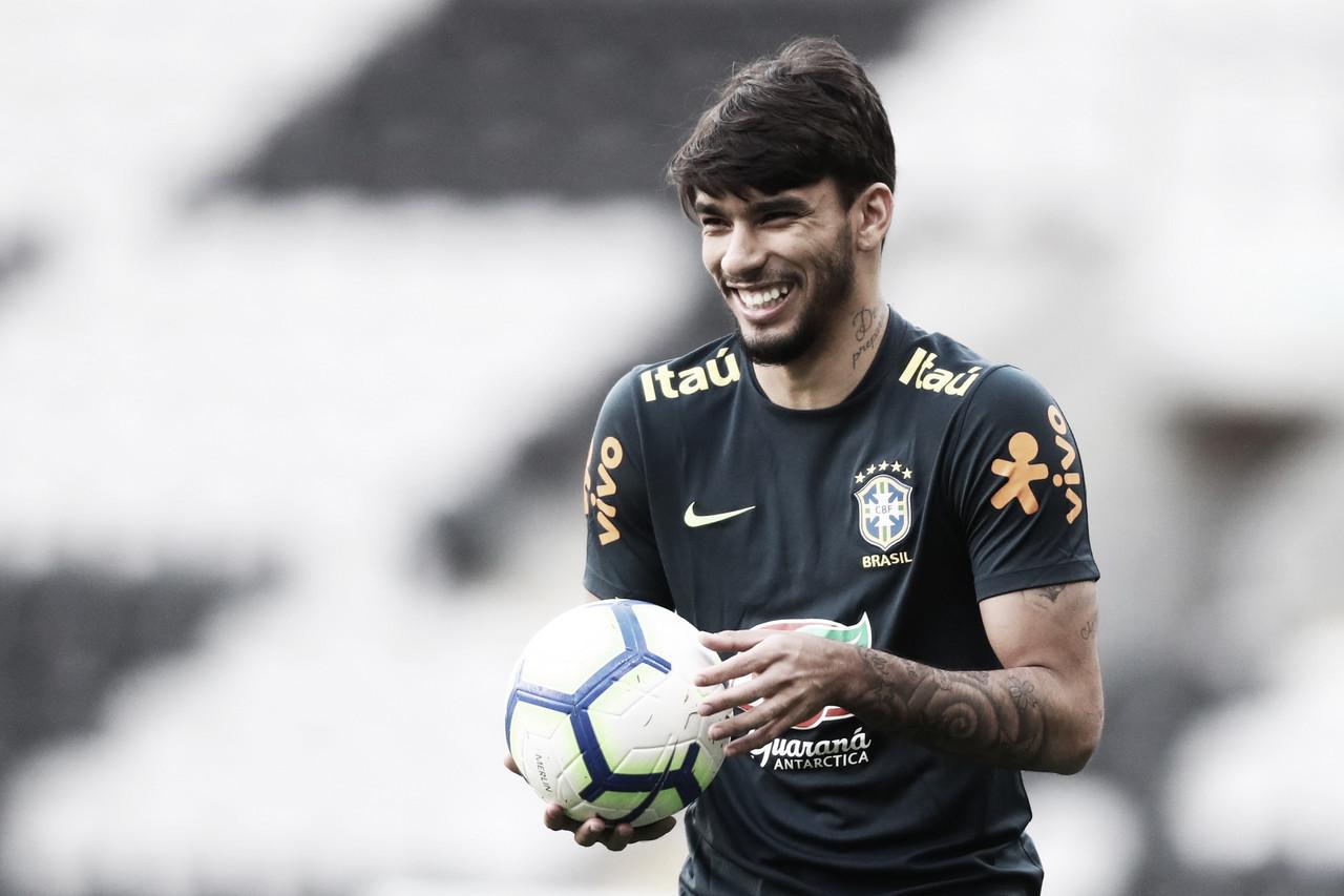 """Paquetá comenta expectativa de vestir a 10 da Seleção Brasileira: """"Dar o meu melhor"""""""