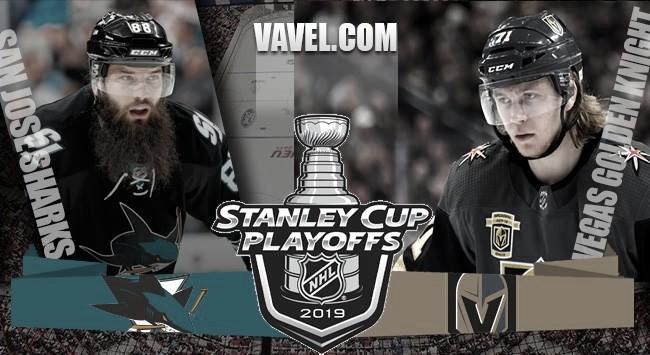 Previa San Jose Sharks - Vegas Golden Knights: primera ronda con sabor a final