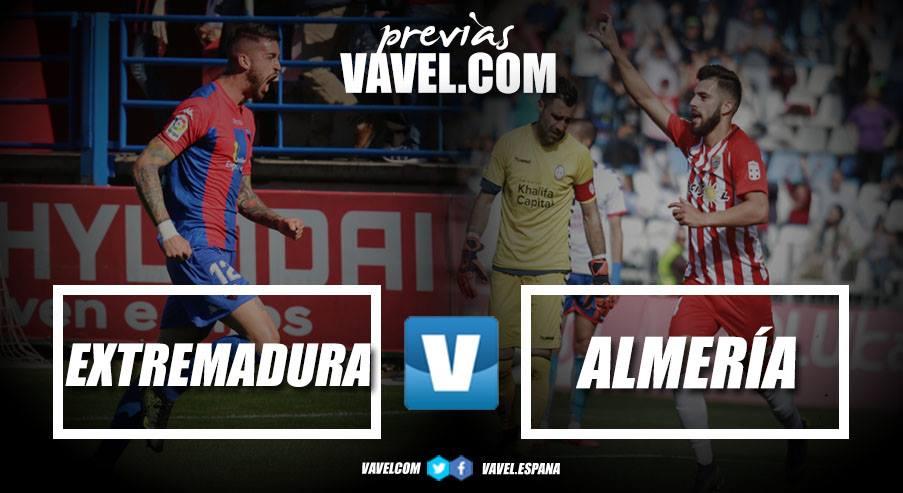 Previa Extremadura UD - UD Almería: para seguir remando