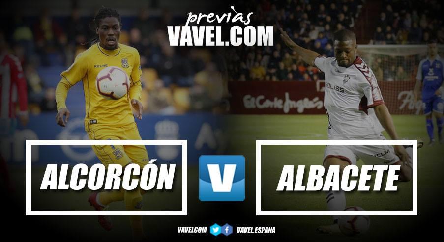 Previa AD Alcorcón - Albacete Balompié: a cerrar la permanencia