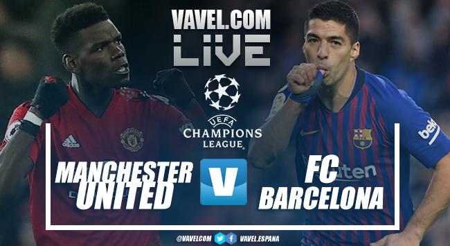 Resumen Manchester United vs Barcelona (0-1)