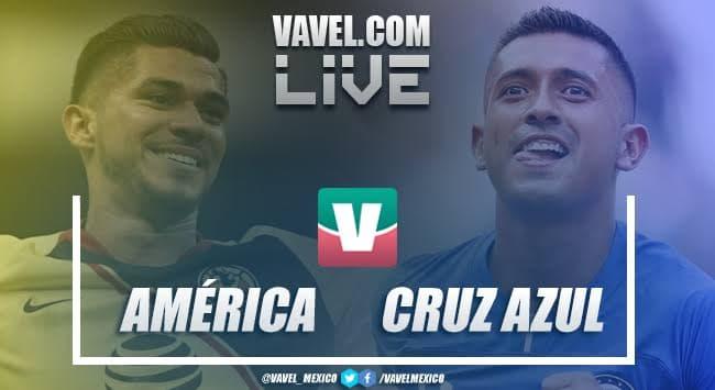 Resumen y video goles América 0-0 Cruz Azul en Liga MX 2019