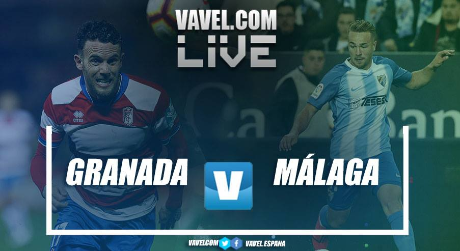 Resumen del Granada vs Málaga en LaLiga123 (1-0)