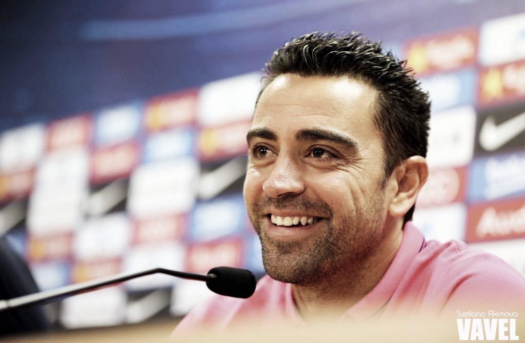 Xavi habla sobre los cuartos de Champions League