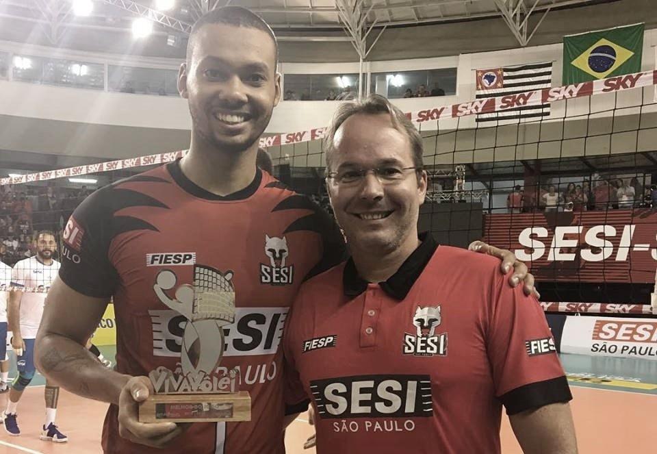 """Alan projeta decisão do Sesi-SP contra Taubaté: """"Nosso time está muito fortalecido"""""""