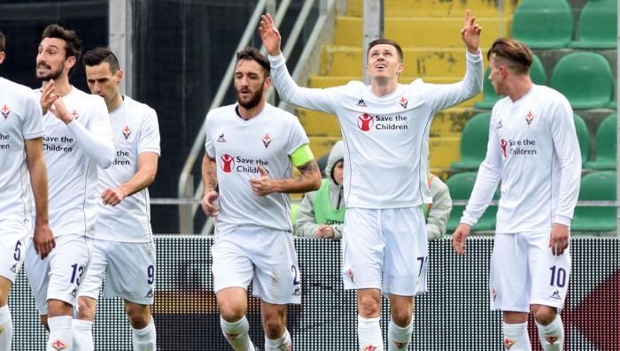 La Fiorentina non stecca, tris al Palermo