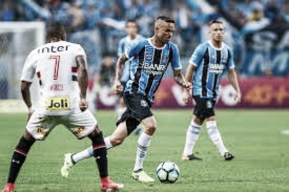 Visando G-4 do Brasileirão, Grêmio recebe vice-líder São Paulo em Porto Alegre
